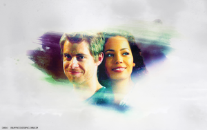 John and Astrid (The Tomorrow People) Wallpaper by chiaratippy