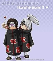 happy birthday itachi saaaan by Bea-Gonzalez