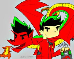 American Dragon: Jake Long by Electric-Amethyst