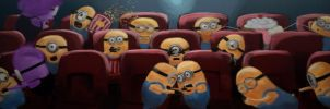 Typical Night at the Movies by IGTorres-Art