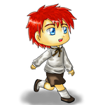 C-Chan birthday gift- child Roy by Sapphire-Blossom-Mai