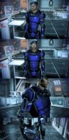 Mass Effect 3 Texmod Cerberus Armor by droot1986