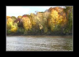 Banks of the Meramec by bamako
