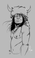 Crow Chief by AfuaRichardson
