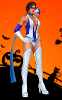 Lisa Hamilton(Halloween) Dead or Alive 5 Ultimate by XKamsonX