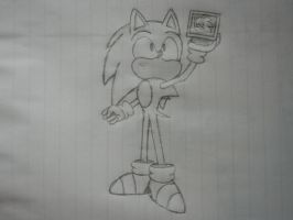 Sonic got a 1UP! by classicsonicawesome