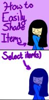 How To Easily Shade Something|OLD by CrystalizedPaws