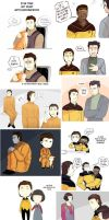 Star Trek art dump 9 by MooseFroos
