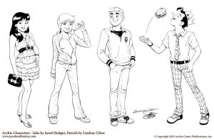 Archie Characters by LCibos