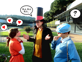 I love you, Layton! Even if I don't listen to you. by acchan-KYOUYA