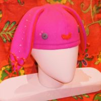 Bunny Bling and Bows Bonnet by pollywriggle