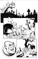 Batman Sequential Art -Page 1 by LostonWallace