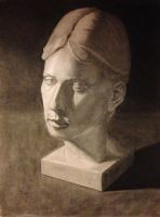Plaster head by NoWayMe2