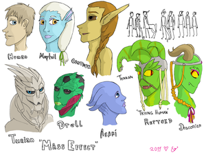 Species busts