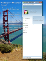 Windows Live Messenger Concept by jordygreen