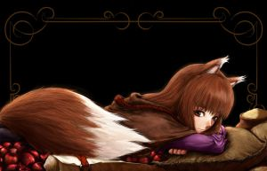 Kenrou Horo :-wheaten tail: by A-231