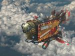Airship by Shinobik