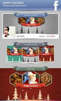 Merry Christmas | Facebook Timeline Cover #04 by artefaelmarques