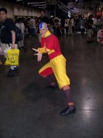 Aang at Anime Expo 2006 by OneRadicalDude