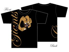 Giants_T-Shirt black by rodmen