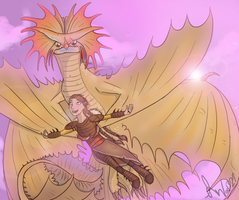 Fly like a dragon by ad321