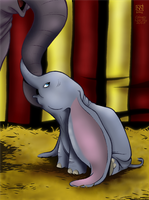 Dumbo by LisaSky-Art