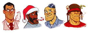 Smissmas Portraits by Kilo-Monster
