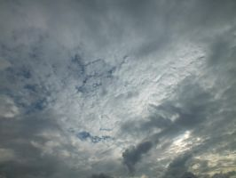 Cloudy Sky - 03A by HermitCrabStock