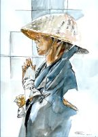 Japanese Beggar by Blue-black-sun