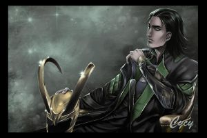 Loki marvel II by Syrkell