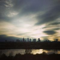 Today afternoon in Warsaw. by proszeek