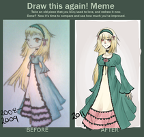 Draw this again-meme by yumegui