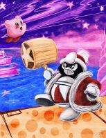 NES Kirby VS DEDEDE by Evanatt