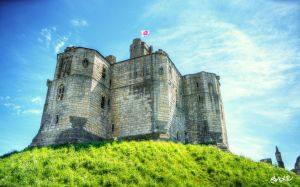 Warkworth Castle by rephocus