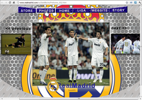 Real Madrid Official WebSite // 'yazzGFX by YaZzDungedon