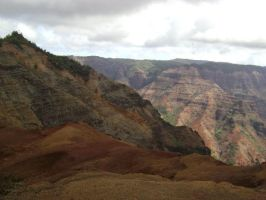Hawaiian grand canyon by csclements