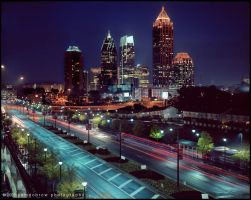 Midtown Atlanta by samdobrow