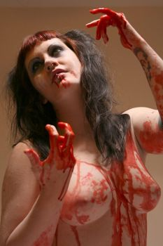 Blood and Babypowder .09 by BloodyBlackCat-Stock