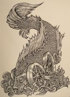 Wheel Fish by HundredHands