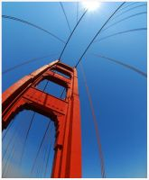 Golden Gate Bridge. by DRXIV