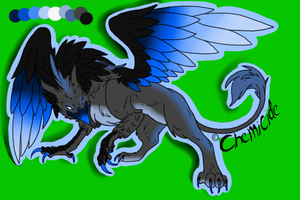 Gryphon Adoptable -OPEN- by CollectionOfWhiskers