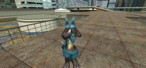 Me and Lucario smelled something... by lamo123