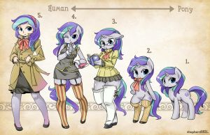 OC Types-Aurora Bell by shepherd0821