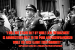 Police Captain Ray Lewis -- OWS Participant by poasterchild