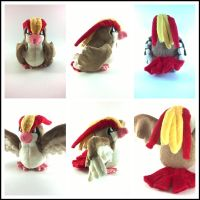 small pidgeot plush by LRK-Creations