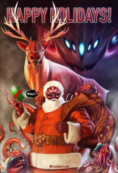 Christmas Badfunk Special by thespyder
