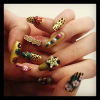 Party Nails by missmagicgirl