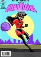 UltraViolet Retro Comic Book by AJD08