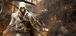 Assasin Creed Collab with Joh by luquituxxx