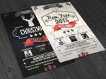 Christmas and New Year Flyer by Mariux10